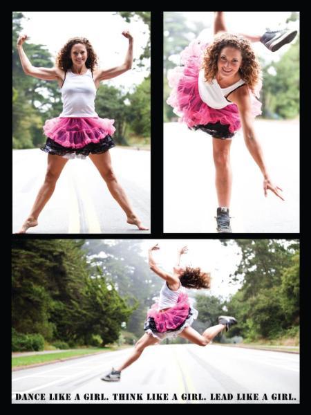 Sarah Bush Grrrl Camp Dance Poster