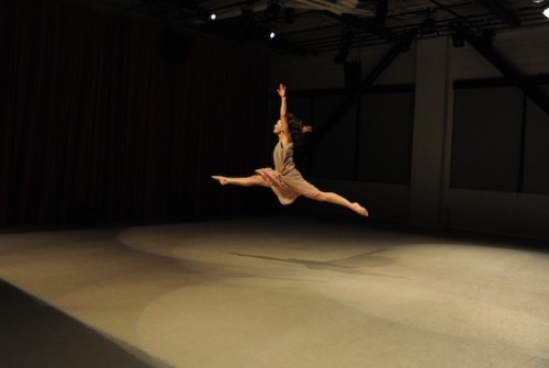 Sarah Bush dancer leap