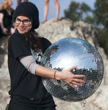 Brittany disco ball