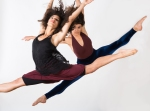 Nina Wu and Shanise Dews performing Sarah Bush Dance Project's Rocked By Women. Photo credit: Molly DeCoudreaux