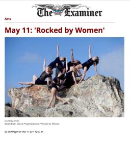 SF Examiner – Calendar Feature 2014