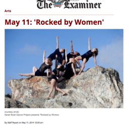 SF Examiner – Calendar Feature 2014