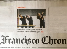 SF Chronicle – front page & Datebook cover story