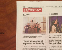 SF Chronicle – Up Front feature