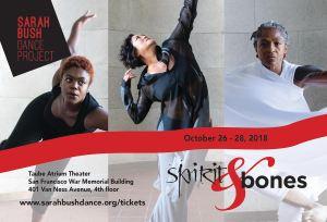 Spirit & Bones flyer